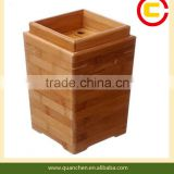 Bamboo Waste Barrel For Tea