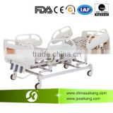 Medical Appliances Metal Hospital Bed With Height Adjustment