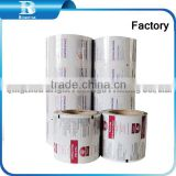 gravure soft printed laminated plastic packing film, cosmetics wet tissues packing PET/AL/PE Packaging Film For Making Moisture