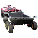 Small Strong Box Utility Trailer with 4 Wheels for Sale