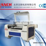 Mini 60W Co2 laser engraving machine for non metal materials, arylic, stone, leather, rubber, wood , stone etc.