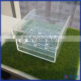 Chinese factory wholesale acrylic rose storage box / acrylic waterproof rose display case for flower shop