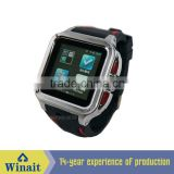 Android system smart wrist watch phone with 3G/wifi/gps/dual cpu/camera WT-52