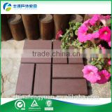 antiseptic wood plastic composite decking, waterproof laminate flooring, outdoor deck floor