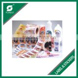 WHOLESALE RECYCLED MATERIAL ART PAPER PRINTED LABEL STICKERS IN ROLL FOR MAKE UP PRODUCTS
