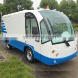 Newest electric China light trucks with platform for sale DT-8 with CE certificate from China