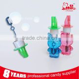 Kids outdoor toys plastic whistle blowing bubble water toys