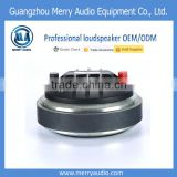 60W RMS 1.7'' neodymium tweeter speakers for sale compression driver horn driver with 108.5dB sensitivity