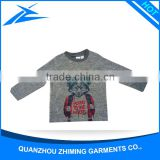 T Shirt Manufacturing Long Sleeve Dry Fit Boy Kids T Shirt Wholesale Cotton T Shirt In China