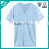 Plain white t shirt design , bulk white shirt , V neck t shirt wholesale made in china (lyt0300087)