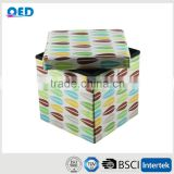 Nice Picture Printing Storage Cube Ottoman