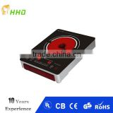 stainless steel body schott ceran ceramic hob handle electric infrared cooker / induction cooker