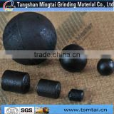 Tangshan Mingtai Diameter 60mm high chromium cast grinding steel ball steel cylpeb for cement mill