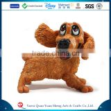 Custom Animal Dog Sculptures ,Resin Dog Statue