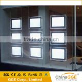 Real Estate Agents Window LED Display Poster LED Acrylic Sign Wire LED Backlight For Sign Board