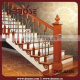 prefab metal stair railing/hand railings for stairs/ wrought iron stair rail