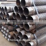 Bridge slotted Johnson stainless steel pipe casing screens for sale