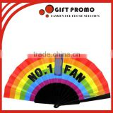Promotional Plastic Folding Hand Fan For Election Events                                                                         Quality Choice