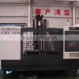 Three axes hard rail CNC vertical Machining Center with high precision VMC-1060/1270/1370