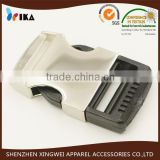 metal plastic combine buckle for strap side quick release buckle