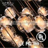 Beautiful Color Crystal Sphere Lamp Led Bulb Lighting Pendant Light