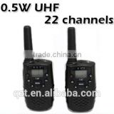 accept paypal Call alert UHF 2 Way Transceivers 22 channels Intercom CB Radio Mini Walkie Talkie