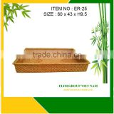 The low price rattan tray for ELITEGROUP