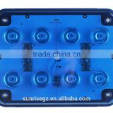 LED Ambulance Emergency Strobe Light /LED Security Emergency Flash Strobe light /Dash light /Grille light (SR-AE-065A-8W-BLUE)