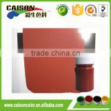 Red iron oxide preparation for Exterior wall coating