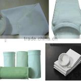Stainless steel dust collector filter bags air filter bag high temperature nonwoven round filter bag