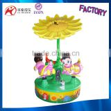 3 people bee carousel amusement mini chinese carousel china for sale