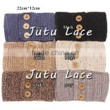 New Fashion winter women Knitted headband/ lovely baby hair accessories
