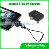 2016 Hottest ATSC android TV tuner Pad TV receiver for South Korea,Mexico,USA,Canada Market