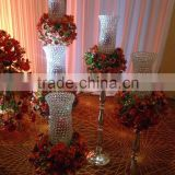 New Products wrought iron lantern candle holder wedding candelabra for table top chandelier centerpieces