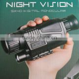Military night vision monoclar, night vision infrared monocular,portable infrared hand-hold night vision video camera monocular
