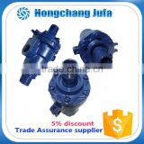 high pressure ductile cast iron 2 passages bsp swivel fittings adjustable water swivel joint