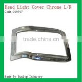 toyota body parts #000707 Toyota hiace 2010-2011 chrome headlight cover chrome head lights cover head lamp cover for hiace 2010