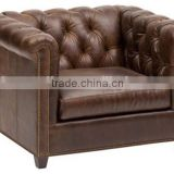 2016 wooden sofa chair chesterfield sofa chair armchair 1 seat sofa