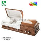 best selling BV certified mahogany casket with lining
