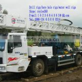 So popular drill machine in Turkmenistan - BZC400ZY truck mounted drilling rigs for water well