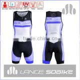 Lycra Custom sublimated OEM Tri Tops triathlon Suit