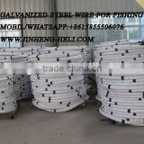 Fishing net wire / sea water fish trap wire / fishing line wire / fishing steel wire / fish trap galvanized steel wire