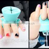 Nail polish bottle holder/Silica gel material support