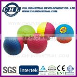 PU foam squeeze stress reliever color change golf ball