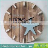 wooden wall clock/antique digital clock ADS050029