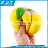 Wholesale 10CM PU foam big peach Kawaii Jumbo squishy licensed toy for children