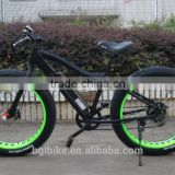 2016 fashionable 26'' 48V 750W electric bike fat tire mountain ebike with CE