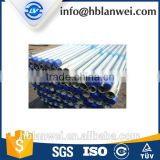 hot dip zinc galvanized Carbon construct erw steel pipe/tube in stock