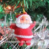 2015 new fashionable golden Santa Claus/ Christmas Father small pendant for Christmas's Day