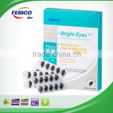 Bright Eyes Softgel with Chlorella Vulgaris Extract to Protects Eyes from Sunlight Damages